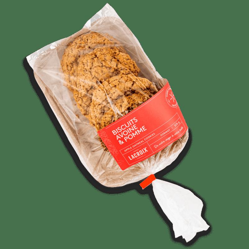 Biscuits avoine et pommes