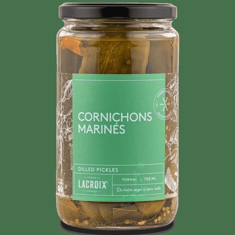 Cornichons marinés